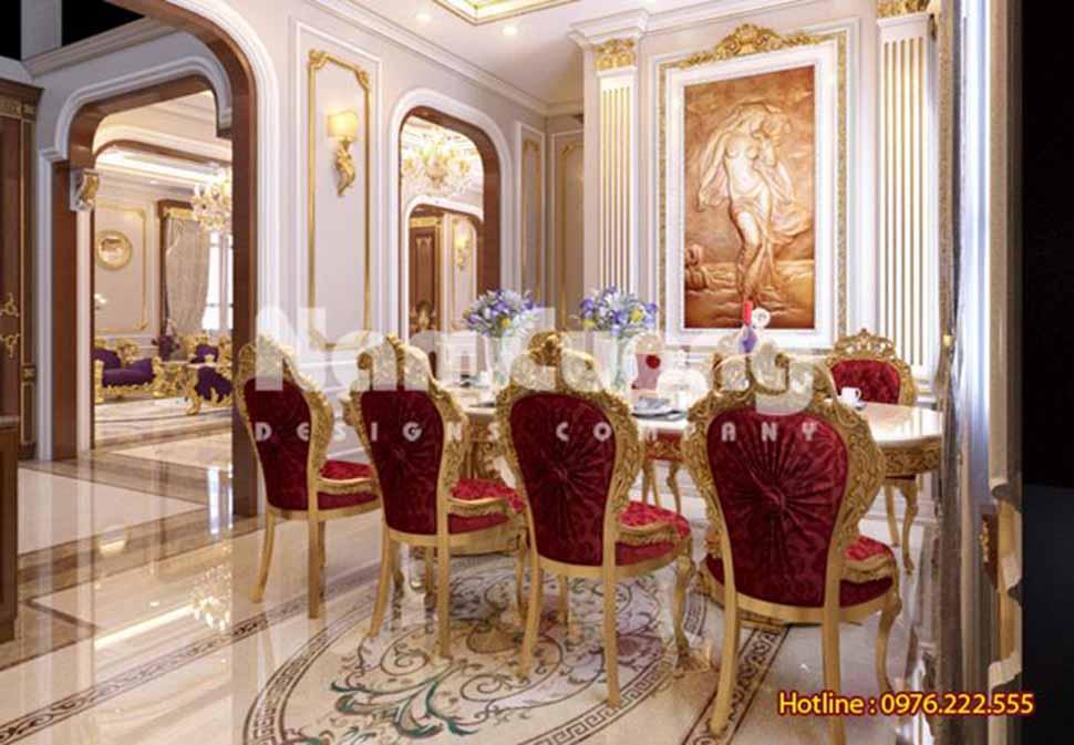 phòng bếp phong cách cổ điển
