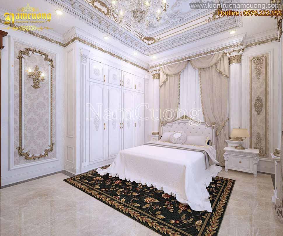 phòng ngủ nhà 2 tầng đẹp