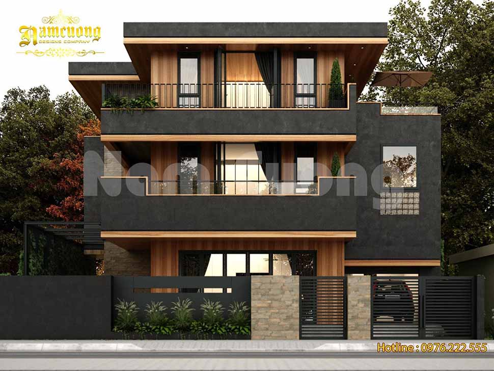 Chiêm ngưỡng thiết kế biệt thự hiện đại 3 tầng