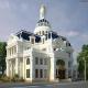 Thiết kế biệt thự kiểu lâu đài đẹp tại Sài Gòn