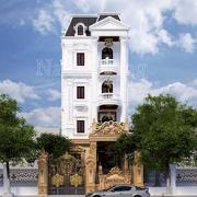 Thiết kế biệt thự lâu đài ở Ninh Bình