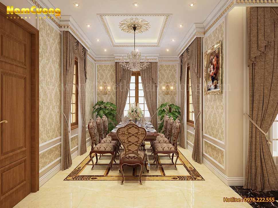 biệt thự tân cổ điển 3 tầng Hải Phòng