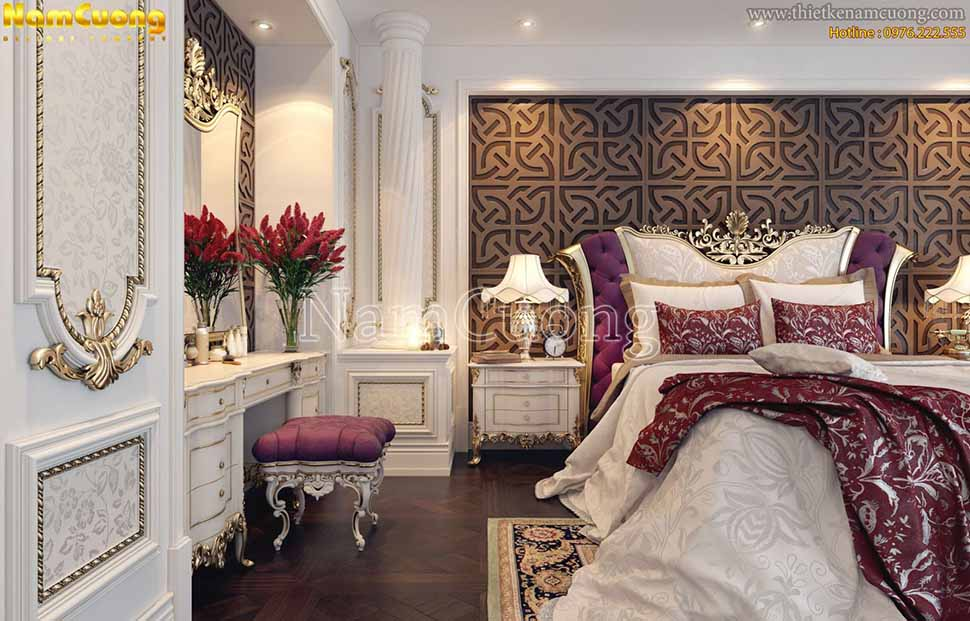 phòng ngủ kiểu pháp