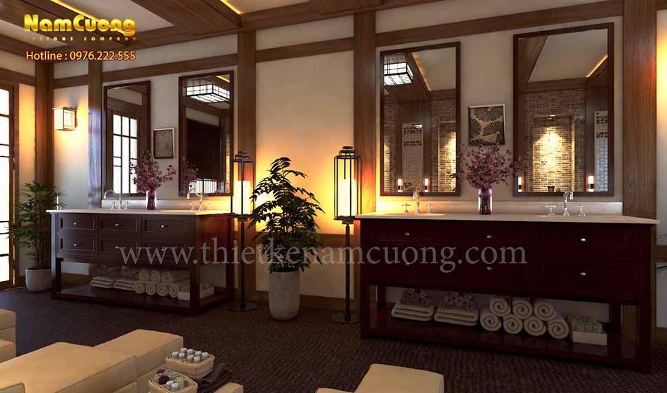 Mẫu thiết kế nội thất spa mini đẹp tại Hải Phòng