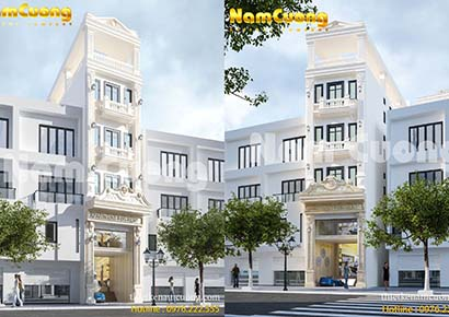 Thiết kế nhà ống có sân thượng đẹp tại Sài Gòn
