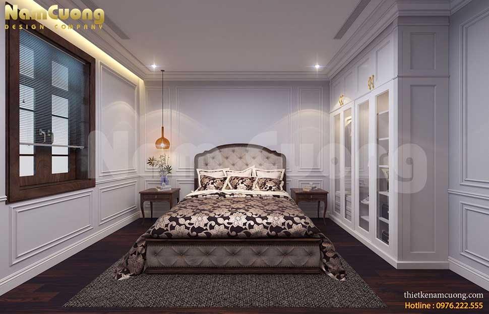 phòng ngủ 3 tân cổ điển