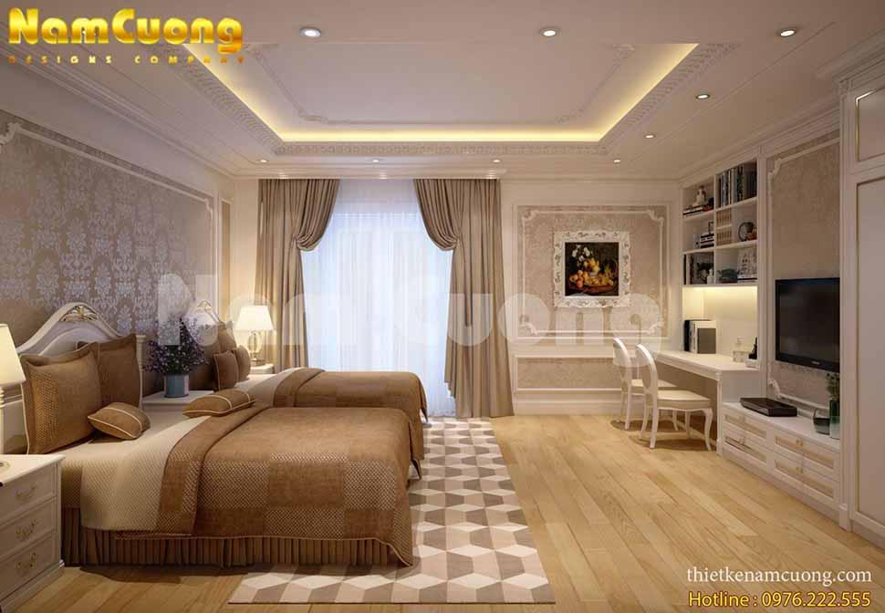 Mẫu thiết kế nội thất biệt thự Vinhome