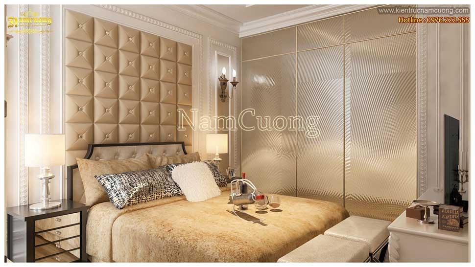 Thiết kế phòng ngủ tân cổ điển ấn tượng