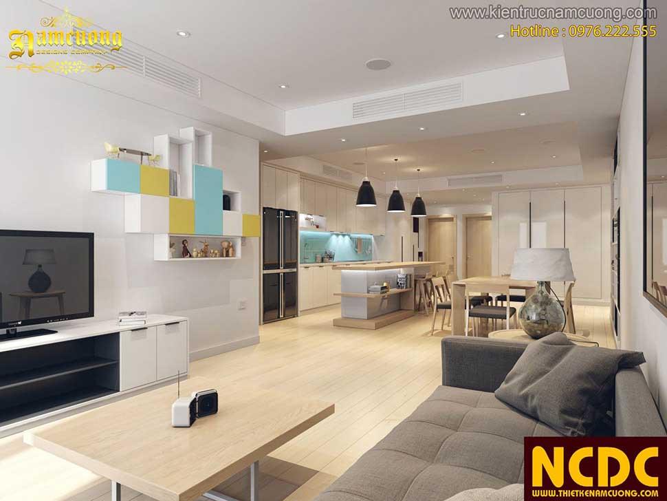 Thiết kế nội thất chung cư cần quan tâm bố trí công năng