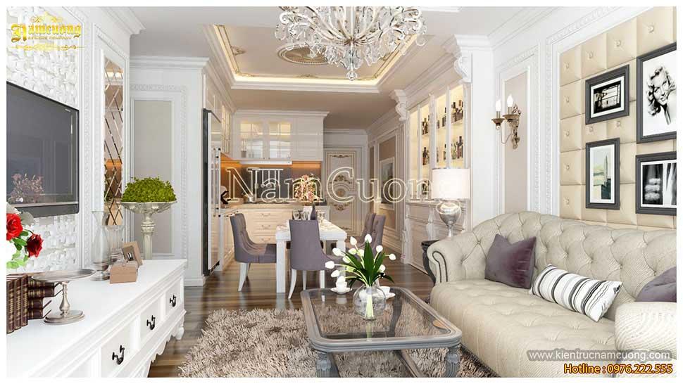 Không gian nội thất chung cư đẹp tinh tế