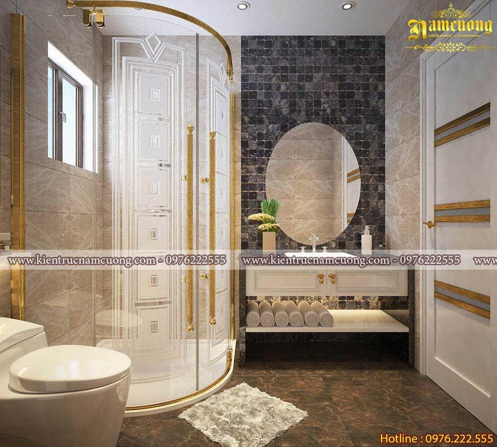 Mẫu thiết kế phòng tắm sang trọng