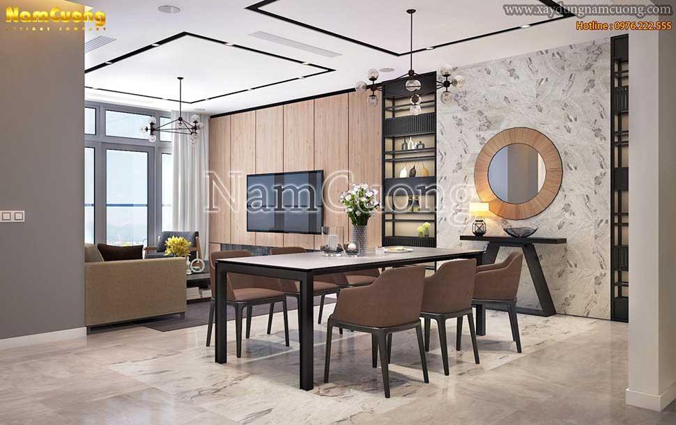 Thiết kế phòng bếp ăn đơn giản