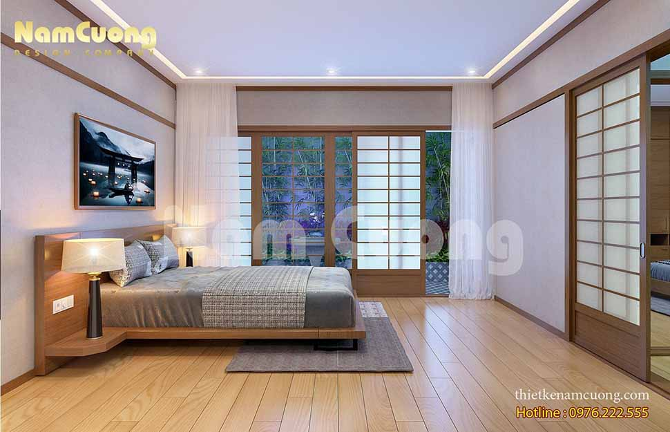 Nội thất hiện đại phong cách Nhật Bản