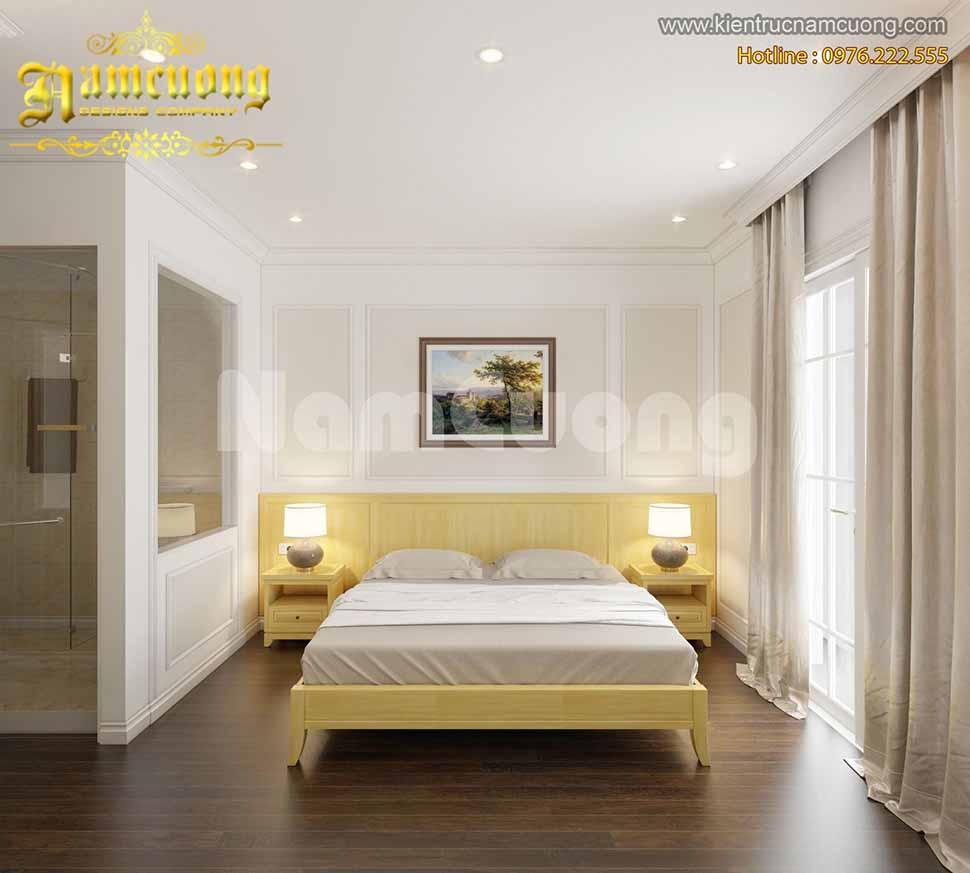 nội thất phòng ngủ khách sạn mini