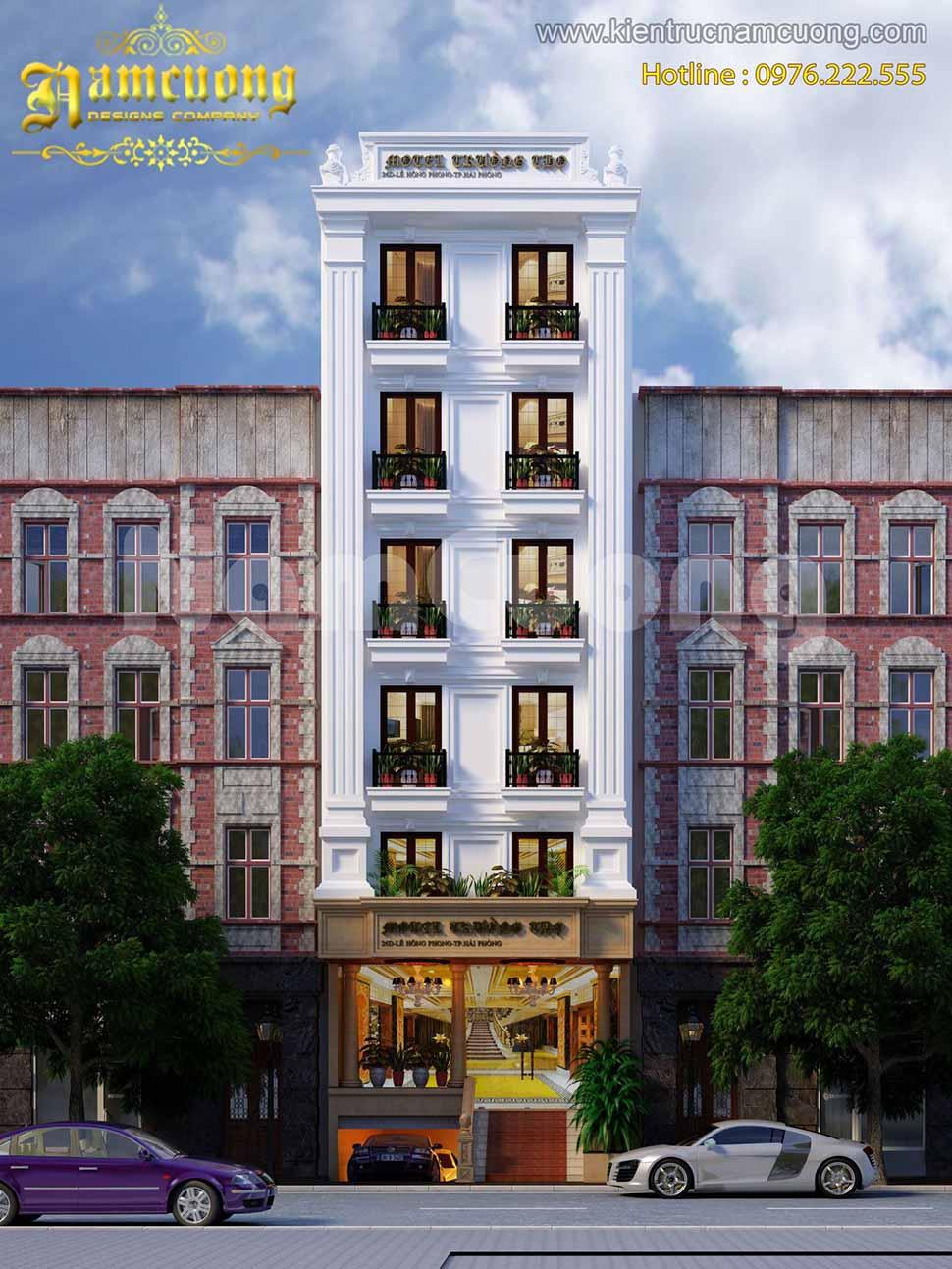 kiến trúc khách sạn nhỏ