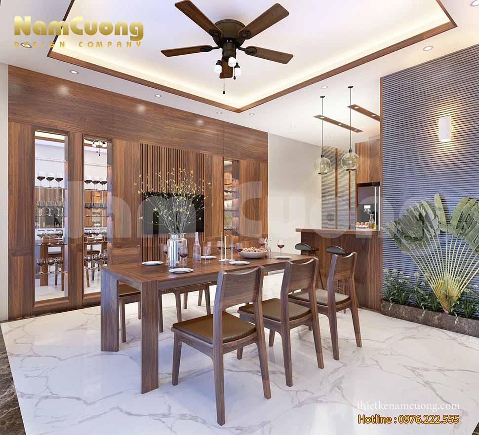 Thiết kế nội thất nhà phố 4m tân cổ điển