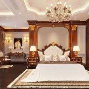 nội thất phòng ngủ lâu đài