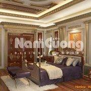 Mẫu thiết kế nội thất phòng ngủ cổ điển