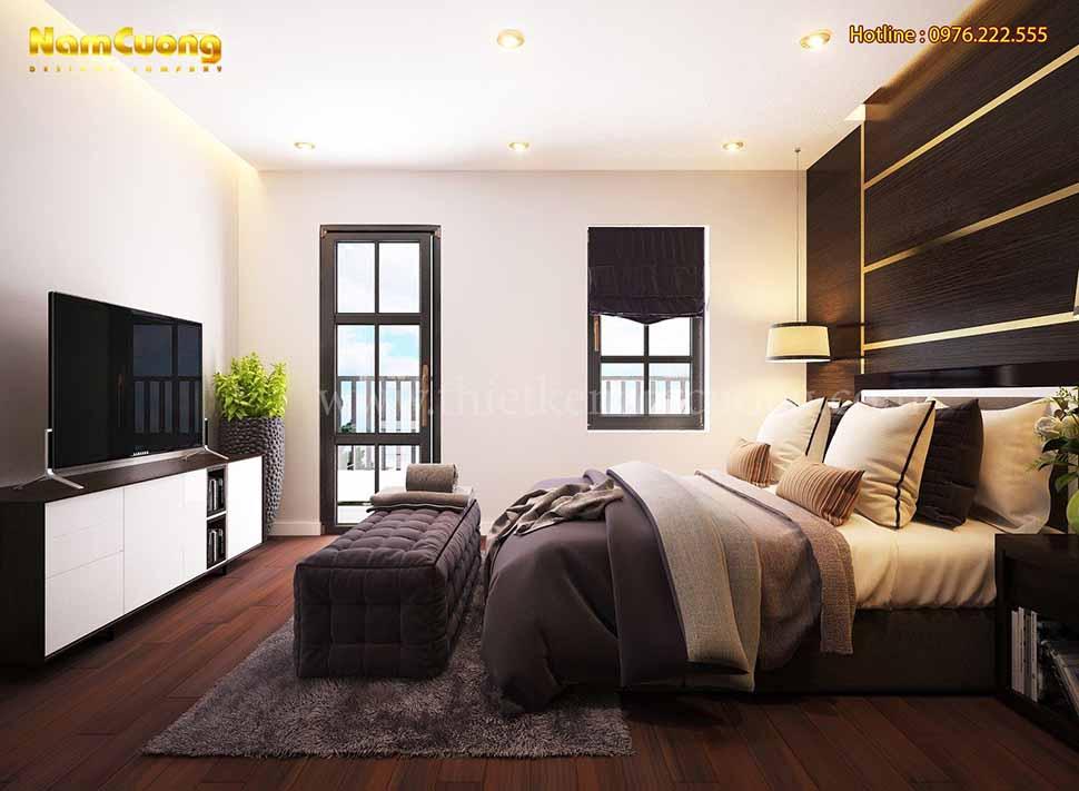 phòng ngủ hiện đại ấn tượng
