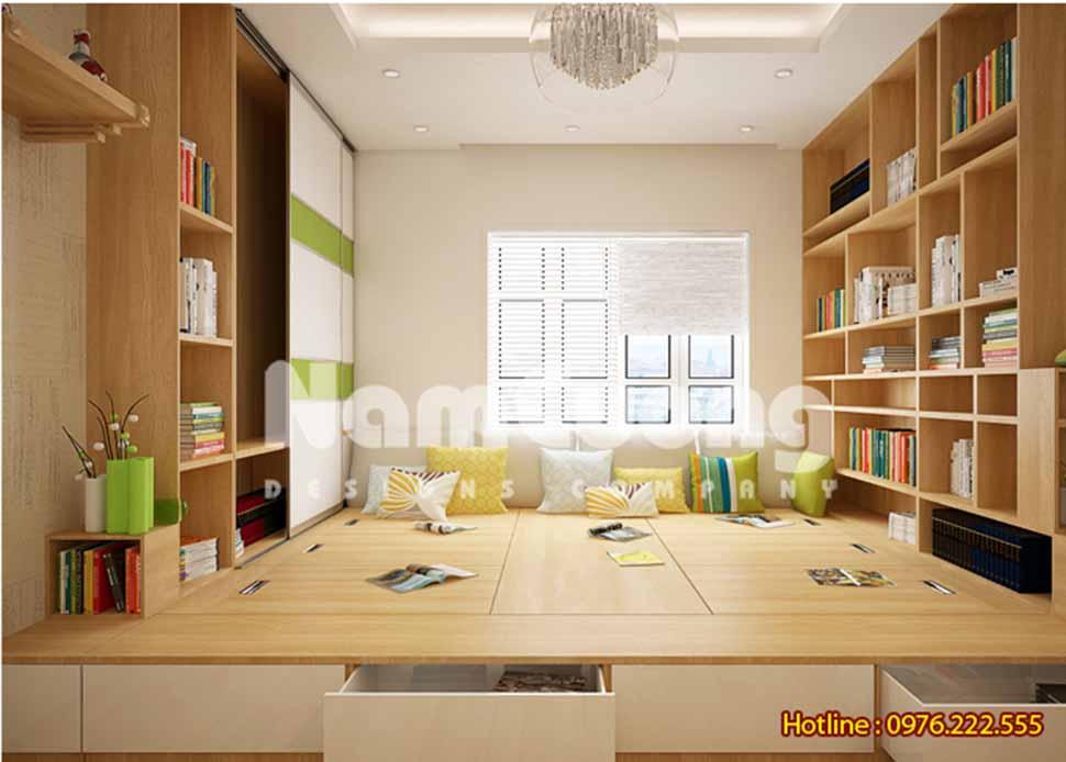 nội thất phòng sinh hoạt chung hiện đại
