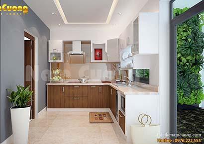 phòng bếp nhỏ đơn giản