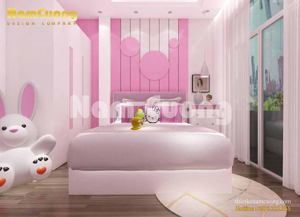 Nội thất phòng ngủ siêu dễ thương cho bé