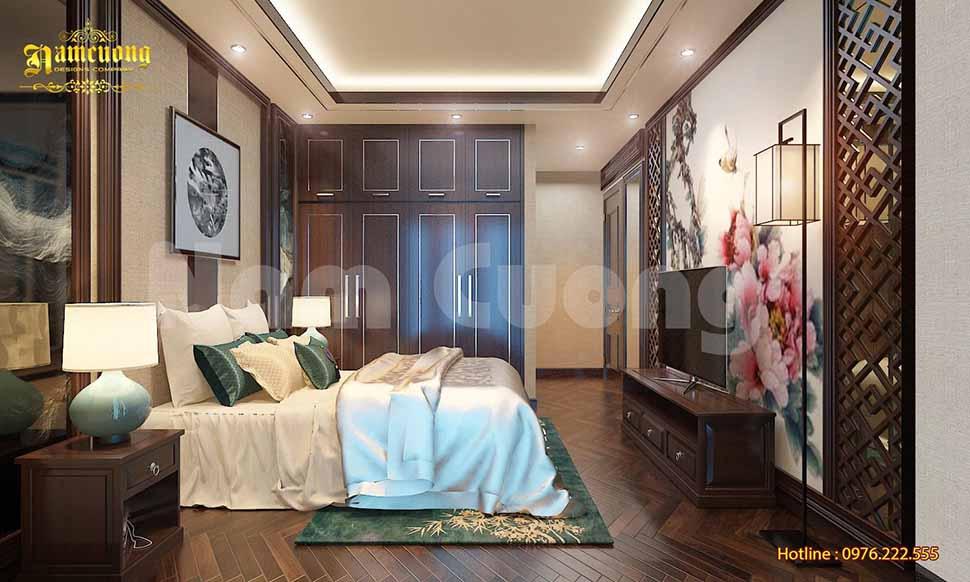 mẫu phòng ngủ của vợ chồng trẻ