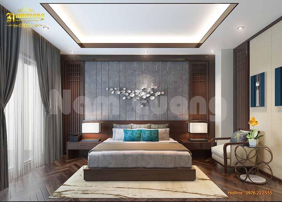 phòng ngủ vợ chồng trẻ