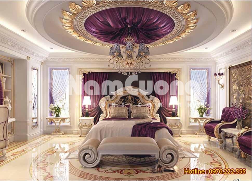 phòng ngủ kiểu Pháp tại Hải Phòng