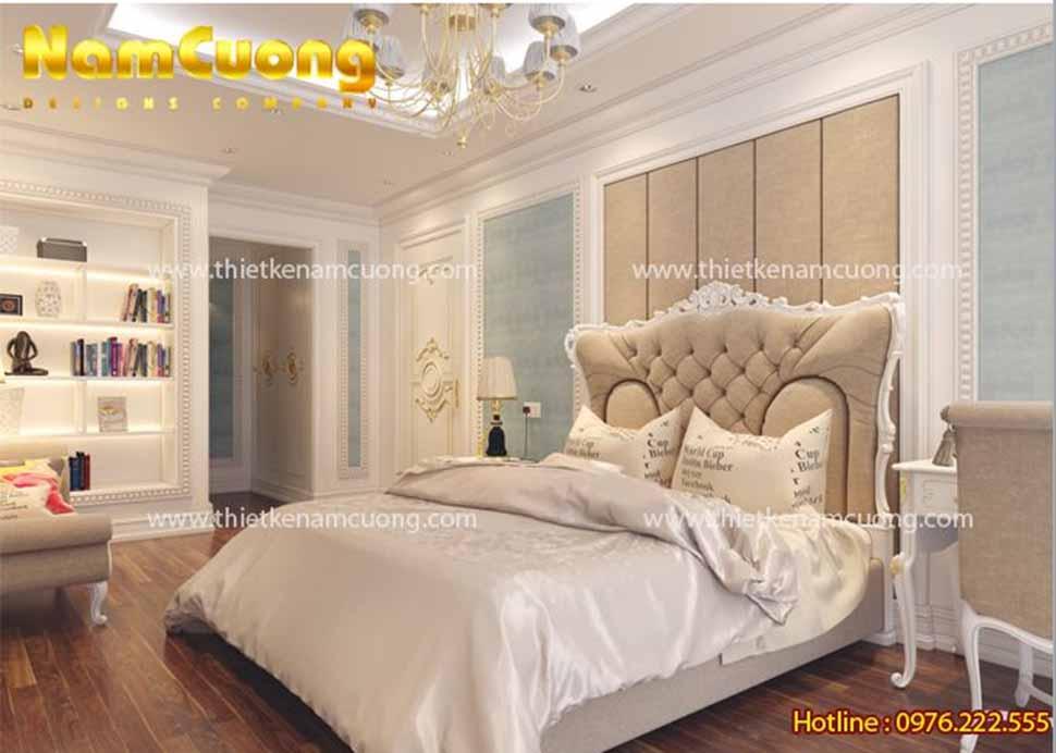 Phòng ngủ nội thất tân cổ điển