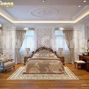 Mẫu thiết kế phòng ngủ cho biệt thự lâu đài tại Quảng Ninh