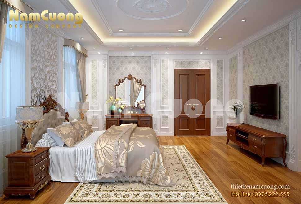 Mẫu thiết kế phòng ngủ ở lâu đài