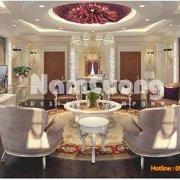 thiết kế nội thất phòng sinh hoạt chung cổ điển tại Hải Phòng