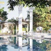 Thiết kế biệt thự nghỉ dưỡng cao cấp có hồ bơi
