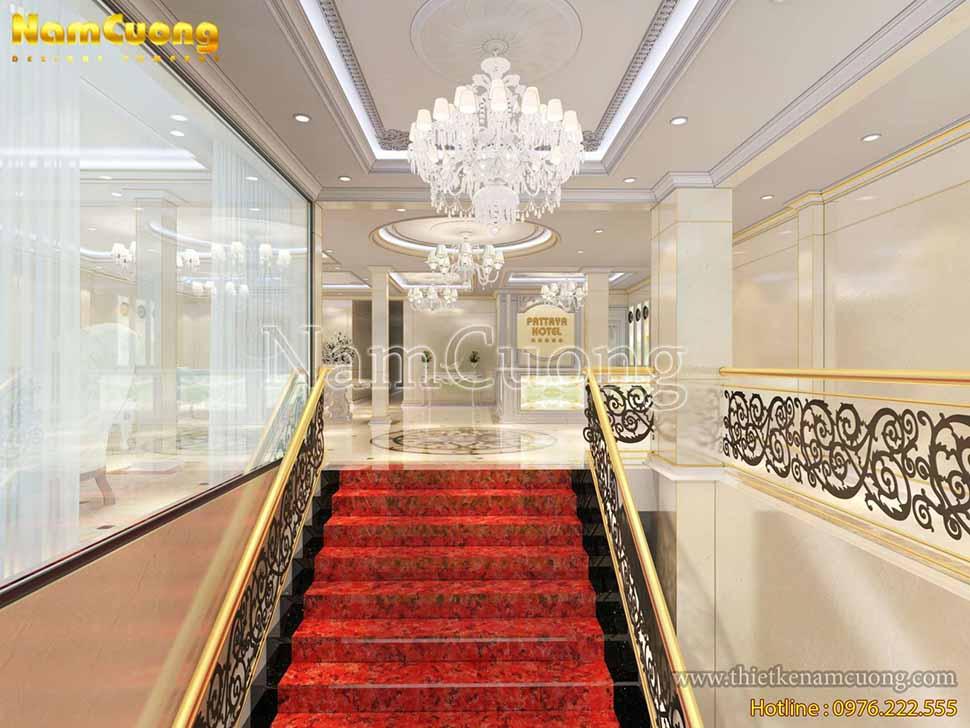 nội thất khách sạn kiểu pháp
