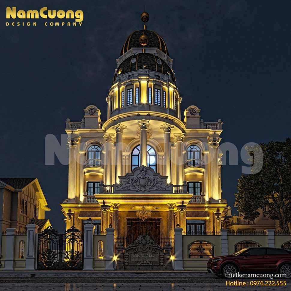 Thiết kế lâu đài dinh thự tại Sài Gòn