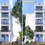 Thiết kế nhà ống 5x20 tuyệt đẹp ở Lào Cai