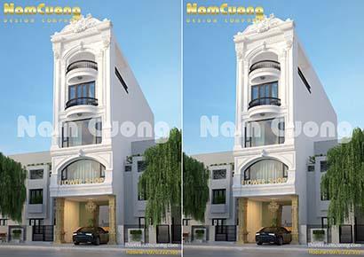 Thiết kế nhà phố kinh doanh