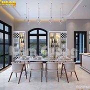 thiết kế nội thất biệt thự vinhomes đẹp