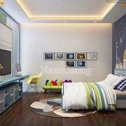 Mẫu nội thất phòng ngủ cho trẻ em