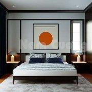 Mẫu thiết kế phòng ngủ tân cổ điển của biệt thự nhà chị Huyền tại Thái Bình