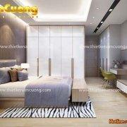 Thiết kế phòng ngủ đẹp 12m2 hiện đại