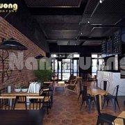 thiết kế quán cà phê 2 mặt tiền