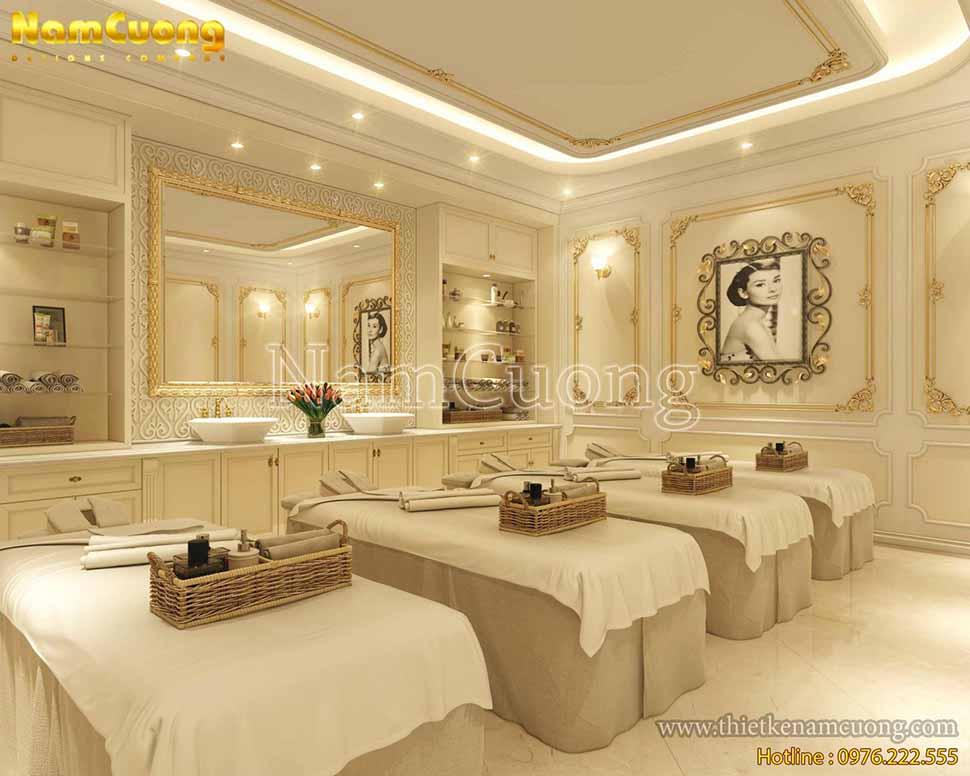 thiết kế spa cao cấp