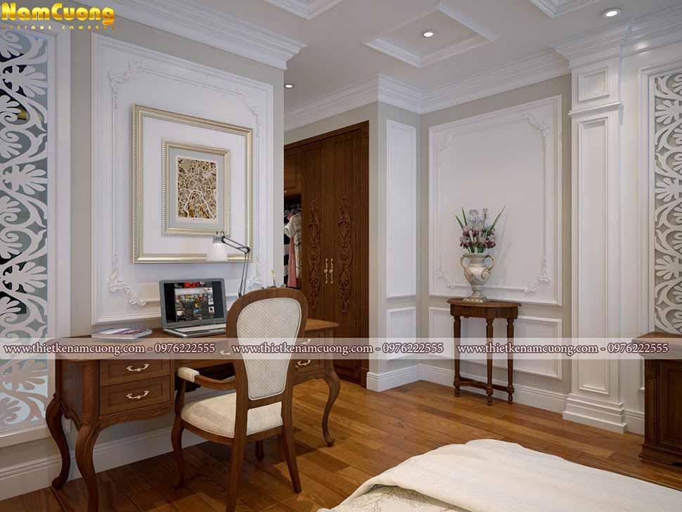 Mẫu thiết kế nội thất tân cổ điển tại Hải Phòng