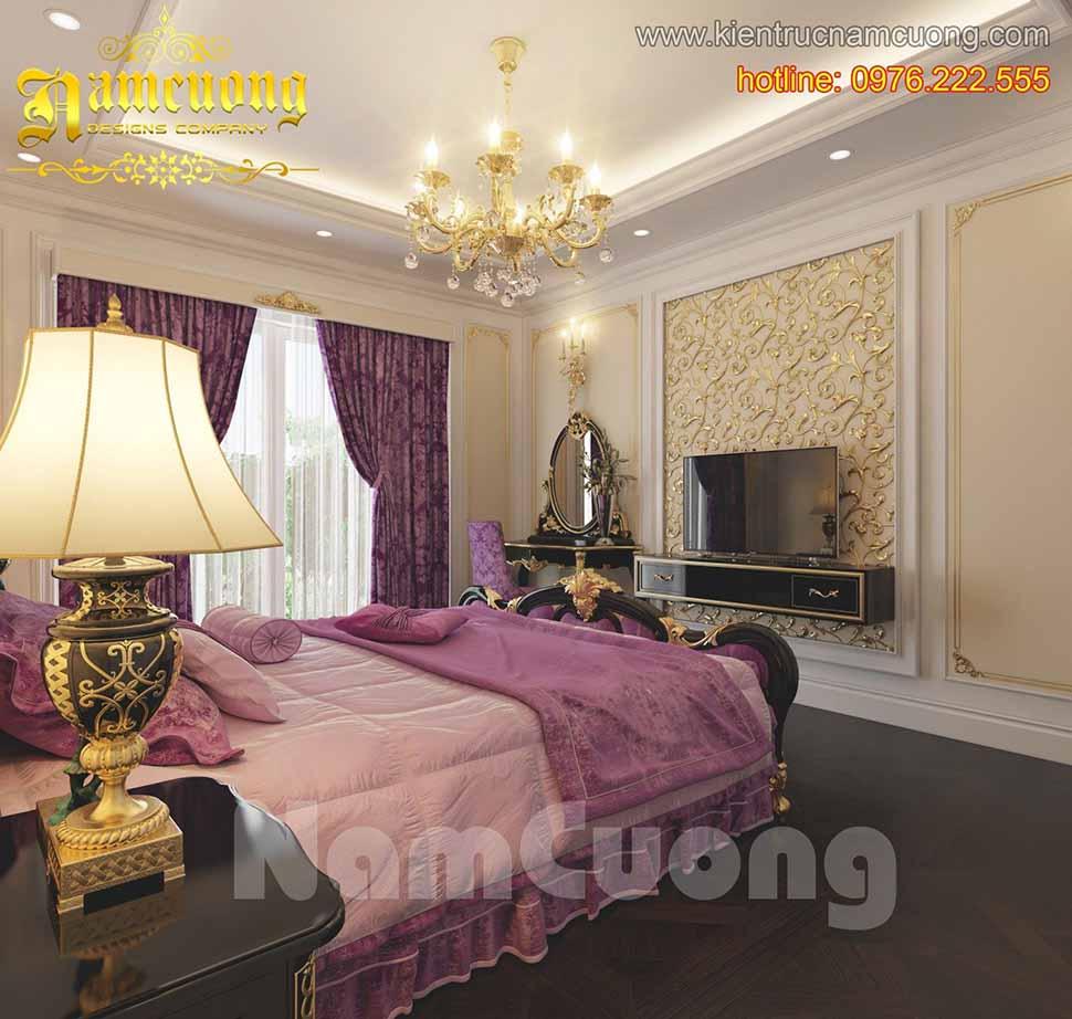 Tổng hợp 6 mẫu phòng ngủ đẹp cho biệt thự Pháp