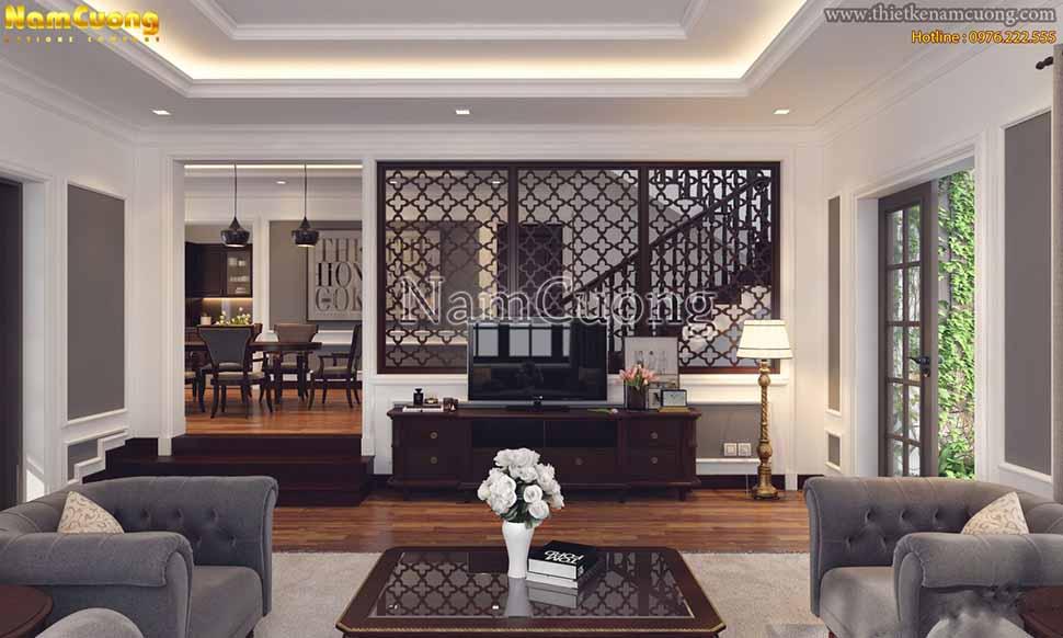 mẫu thiết kế nội thất tân cổ điển đẹp