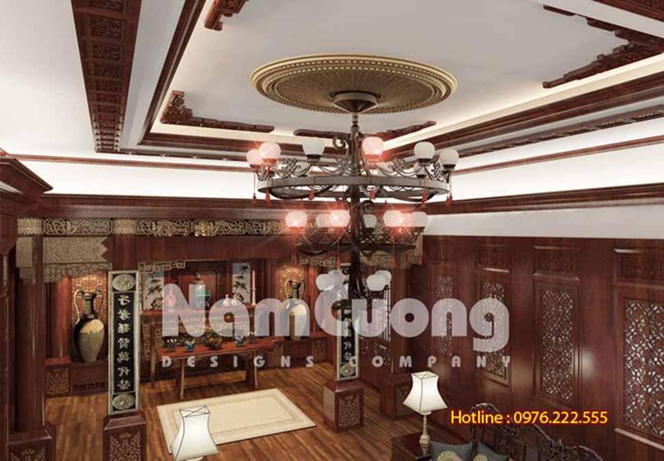 Thiết kế nhà ống tân cổ điển 5 tầng tại Hải Phòng