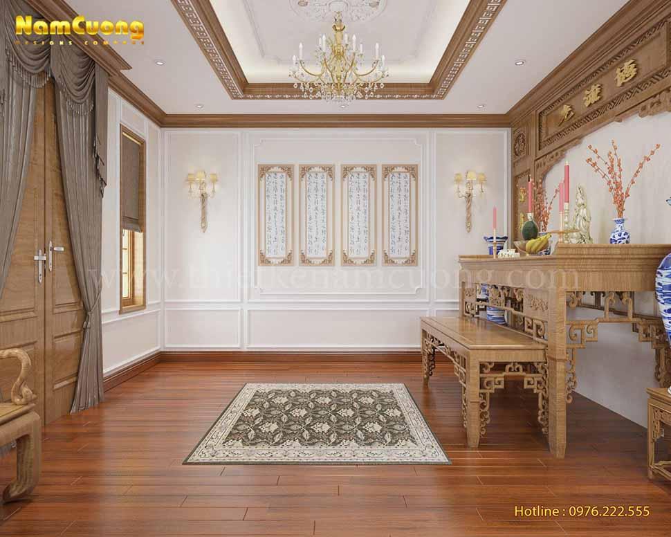 nội thất biệt thự tân cổ điển tại Sài Gòn