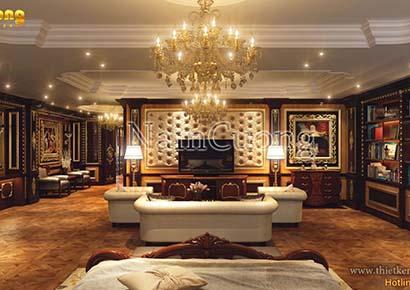 Thiết kế nội thất căn hộ penthouse 60m2